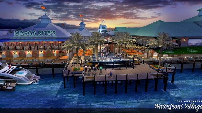 Port Canaveral waterfront village proposal.