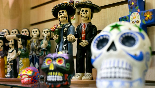 Southwestern Reflections in Scottsdale sells a collection of classic and modern Arizona gifts, including Day of the Dead items.