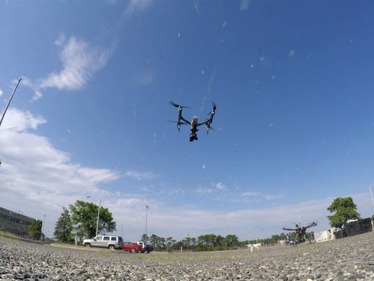 As drone industry grows, a fight looms for control of the sky