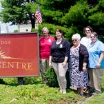 The leadership team at StoneRidge Towne Centre in Myerstown, from left, Valerie Sweatlock, Jacqueline Willman, Joe Bononno, Kristine Tait, Kori Bingaman, Katrina Wagner, Stacey Berard, Pamela Meyer, Nancy Plummer and Elaine Kirkwood pose for photo after the retirement facility was informed by the state Department of Health that it received a deficiency-free survey. Each year the Department of Health conducts the Medicare and Medicaid State Licensure Survey of every nursing facility in the state. A team of four surveyors arrived spent several days reviewing and assessing dietary, activities programming, behavioral programs, pharmacy services, clinical operations and the overall level of care at the facility. The team told Bingaman that the overall care at Towne Centre is very good, and that no deficiencies were found, according to news release from StoneRidge.