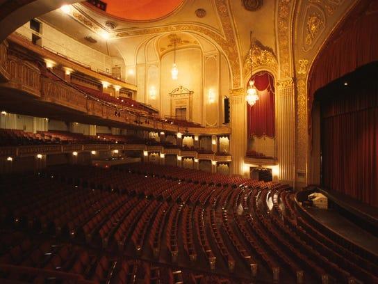 The Orpheum Theater in Memphis