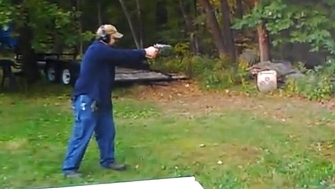 When shooting a .500 S&W, you really need to be aware of your target.