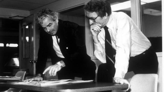 USA TODAY founders Al Neuharth and John Quinn.