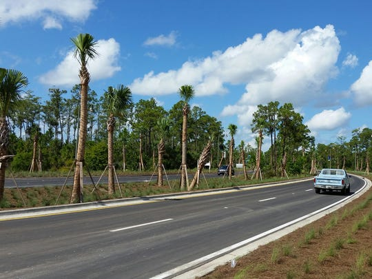 Improvements, including the repaving of  FGCU Boulevard, have been made to the FGCU campus.