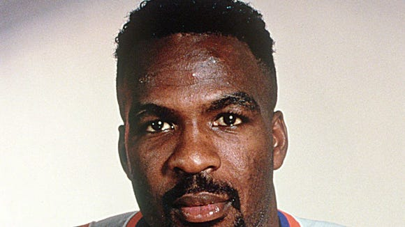 1994-95 file photo The New York Nicks Charles Oakley