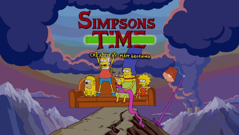 Title card for 'The Simpsons' upcoming episode.