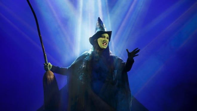 "Broadway musical ""Wicked"" is coming to Juanita K. Hammons Hall in February. Emma Hunton played Elphaba, Wicked Witch of the West, in a 2014 performance."