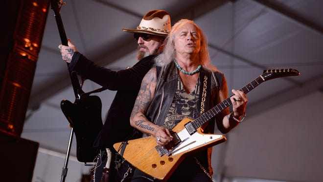 Johnny Colt, Rickey Medlocke and the rest of Lynyrd Skynyrd will headline the Catfish Concert in Greenville on July 9 with Joan Jett & The Blackhearts.