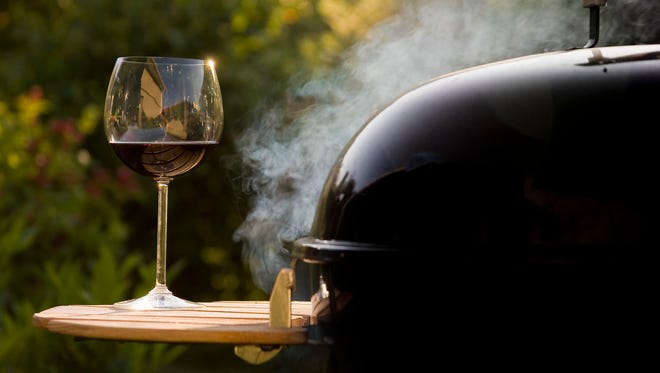 A nice glass of wine can complement grilled and barbecued dishes of all sorts.