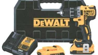 Two Dewalt cordless drills (much like the one pictured) were among the items stolen in late May from a shed in the township of Knowlton.