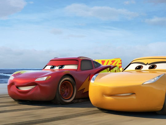 "Disney•Pixar's ""Cars 3"" is teaming up with NASCAR this year as crowd favorite Lightning McQueen (voice of Owen Wilson) prepares to return to the big screen."