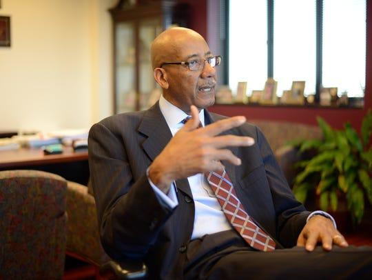 Joseph Webb, CEO of Nashville General Hospital