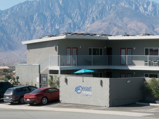 Desert Hot Springs Inn is a new canna-tourism resort in Desert Hot Springs, Calif., October 10, 2017.