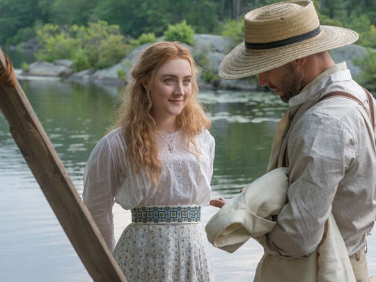 Saoirse Ronan plays Nina and Corey Stoll is Boris in