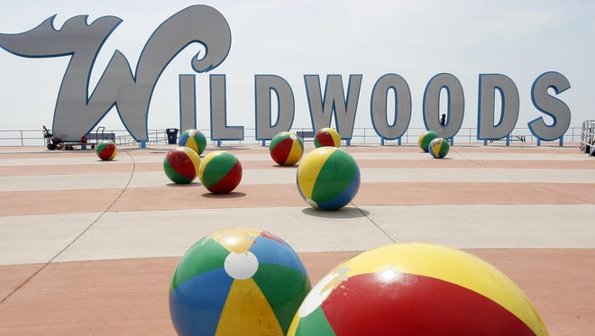 The Wildwood boardwalk remains a popular summer destination.