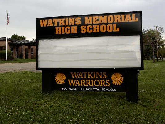 NEW Watkins Memorial High School stock