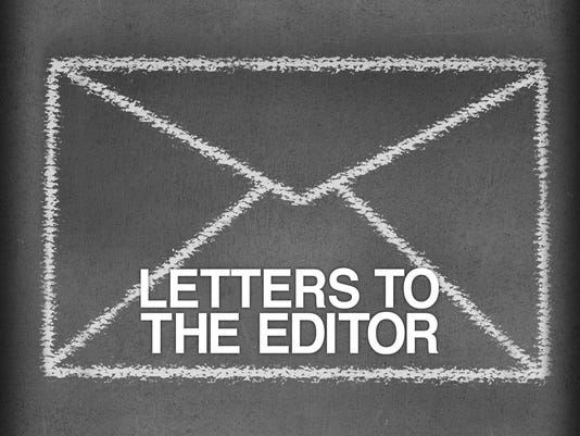 Presto graphic letters letter to the editor opinion