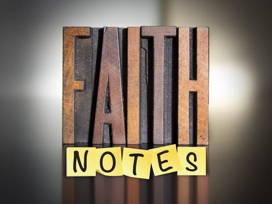 Presto graphic faith notes (religion)
