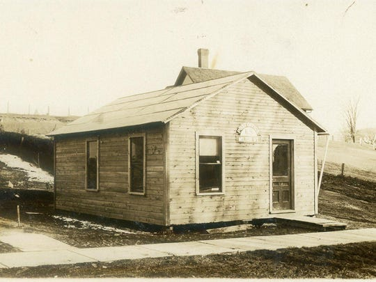 This photo from a postcard at the Milton Historical Museum shows the Milton post office prior to 1910.