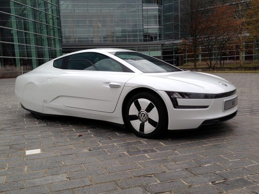 Test Drive: VW XL1 shows how to get 200 mpg