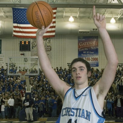 CBA'sTim Andree celebrates after his team defeated