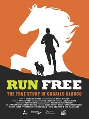 """The documentary """"Run Free,"""" about the legendary runner Caballo Blanco of """"Born to Run"""" fame, will screen in Asheville Feb. 29."""