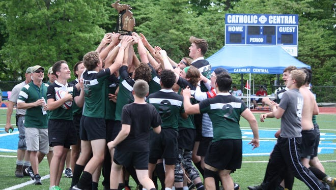 The Howell rugby team won the Division 2 state championship for the first time in school history.