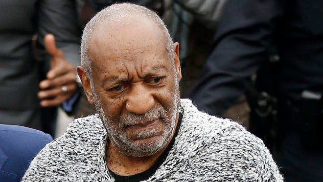 Bill Cosby on Dec. 30, 2015 when he arrived to face charge of aggravated indecent assault, in Montgomery County, Pa.,