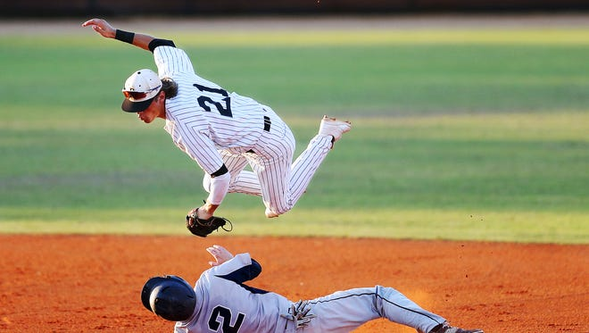 Former Bishop Verot shortstop Blaze Alexander was selected in the 11th round by the Arizona Diamondbacks on the third day of the MLB First-Year Player Draft on Wednesday.