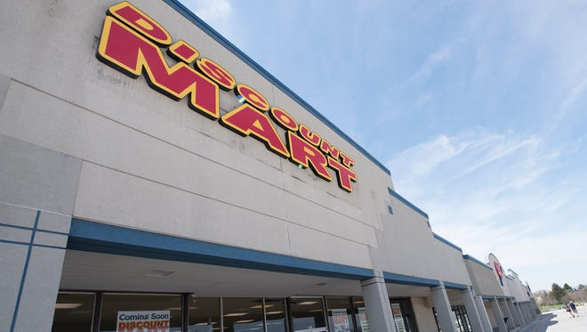 Discount Mart will open the first week of May in the Lincoln Way East shopping center, 1672 Lincoln Way East, Chambersburg.