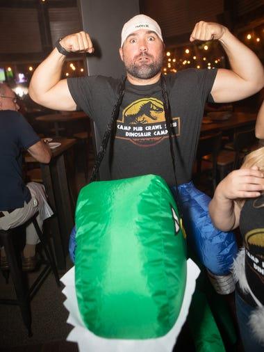 The Summer Santarchy and Dinosaur Camp pub crawls proved