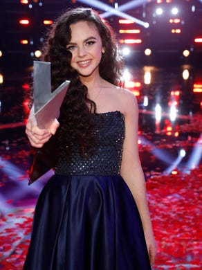 """Chevel Shepherd was crowned the winner of Season 15 of """"The Voice."""" Coach Kelly Clarkson repeated her winning ways with the 16-year-old from New Mexico she calls, """"My country Tinkerbell."""""""