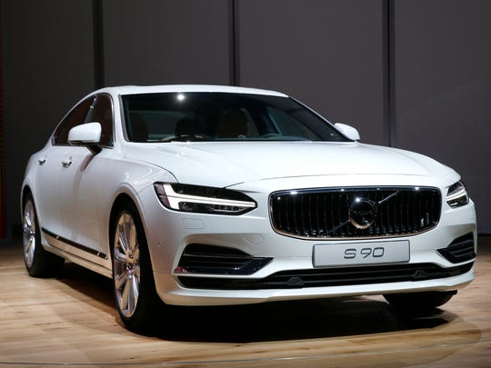 The Volvo S90 debuts Jan. 11, 2016.