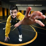 Everything on the mat is within AGR wrestler Anthony Noto's grasp