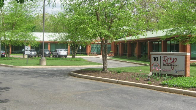 This office building with more than 13,000 square feet is available in Monroe, just a mile from the NJ Turnpike.