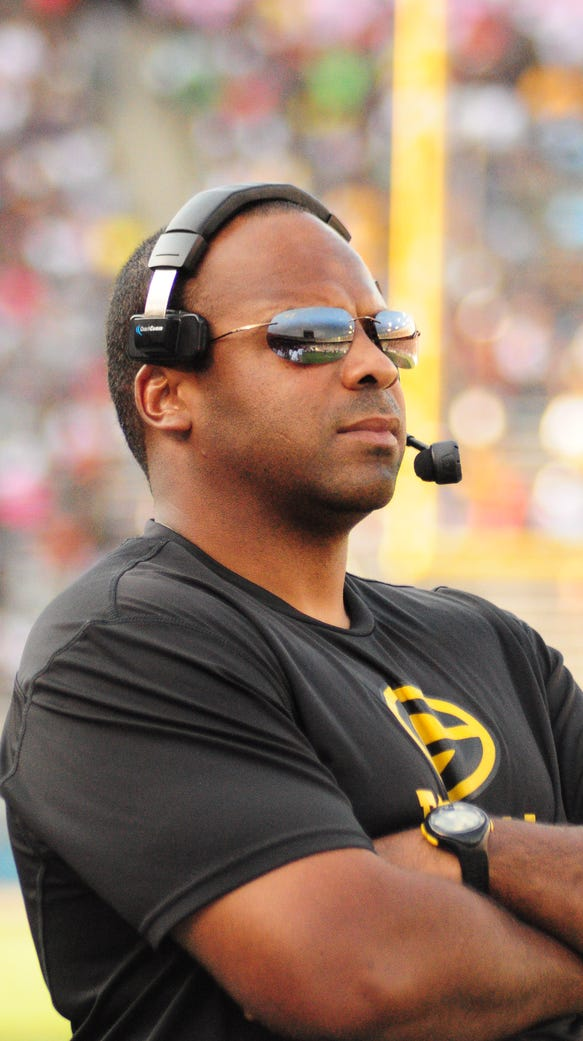 Grambling coach Broderick Fobbs was emotional after