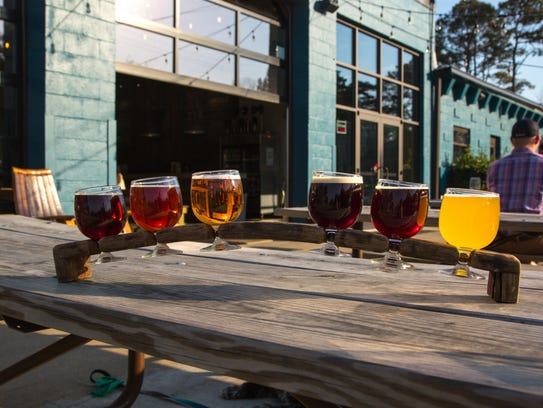 At Commonwealth Brewing Company, guests can see evidence