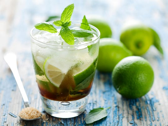Created in Cuba, the mojito quickly found its way to