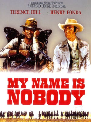 """""""My Name is Nobody"""" (1973), starring Terence Hill and Henry Fonda, is based on an idea by Sergio Leone. Filming locations include San Ildefonso and Acoma Pueblo, White Sands National Monument and Mogollon, NM."""