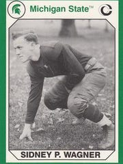 Sidney Wagner, a Lansing Central graduate, was an All-American