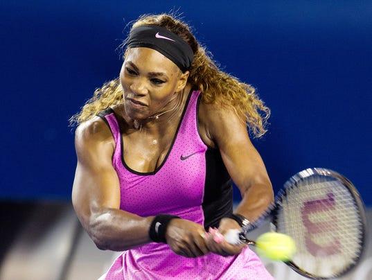 2014-01-22 Serena Williams