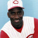 The Reds' Roberto Kelly in 1994.