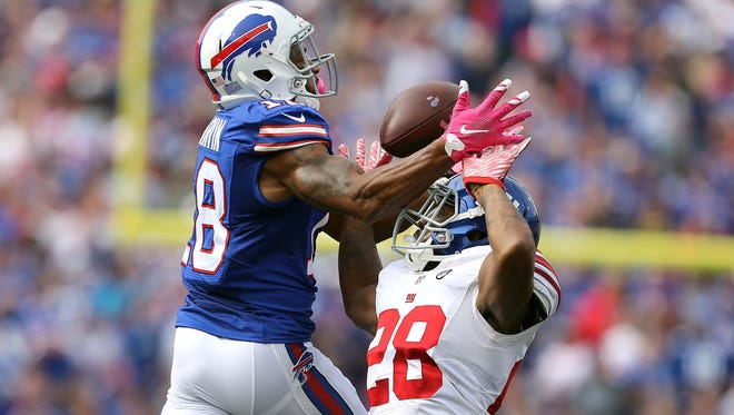Percy Harvin is rejoining the Buffalo Bills.