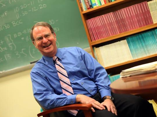Charles Ballard, MSU professor of economics in his