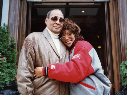 """Whitney"" examines the tumultuous relationship between Whitney Houston and her father, John Houston."