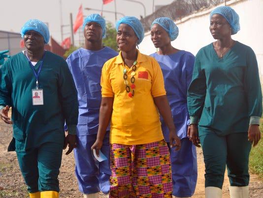 AP LIBERIA  EBOLA WEST AFRICA I LBR