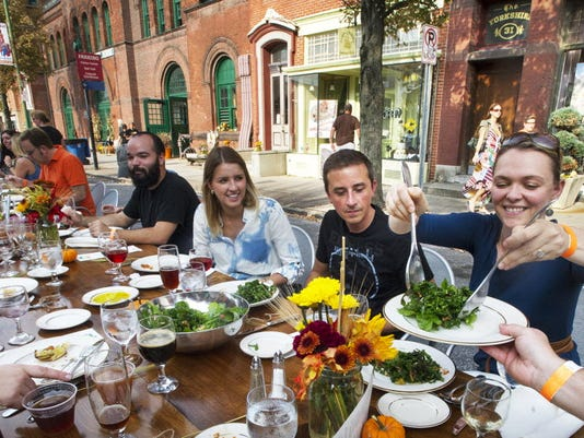 The third annual Farm to City dinner returns to Beaver Street in downtown York Oct. 4.