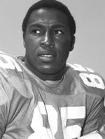 Lester McClain, the first African American to play football at Tennessee, had 70 catches for 1,003 yards and 10 touchdowns in his career (1968-71).