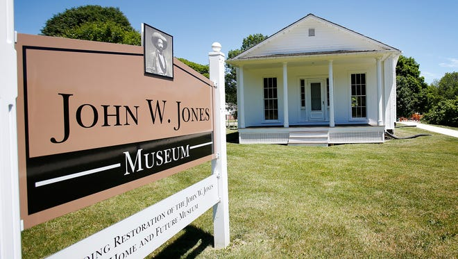 John W. Jones' former home at 1250 Davis St. in Elmira is being turned into a museum commemorating the life and work of the former slave who assisted nearly 800 slaves on their trek to Canada, and buried nearly 3,000 Confederate soldiers at Woodlawn National Cemetery.