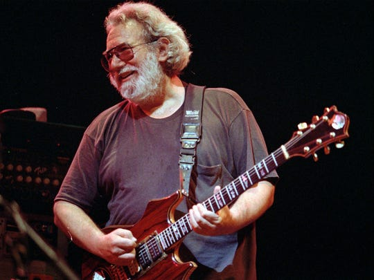 The late Jerry Garcia, guitarist for the Grateful Dead.